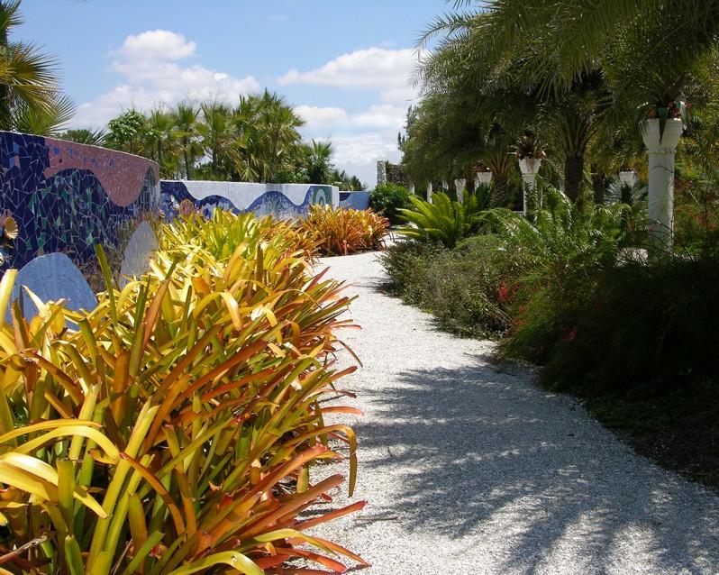 Tropical Mosaic Garden - W. Gary Smith Design
