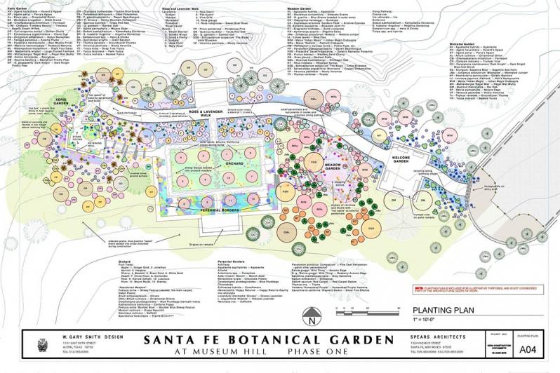 Captivating Santa Fe Botanical Garden Master Plan U0026 Garden Design   W. Gary Smith Design